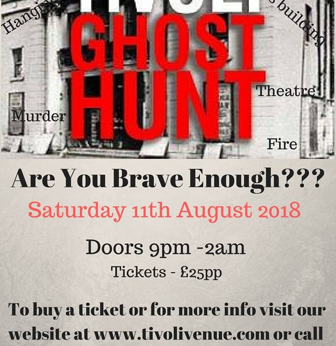 ghost hunt august